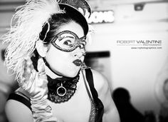 At the Clevelander South Beach, Miami, Halloween Face Makeup