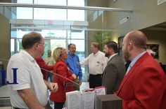 May 9, 2013 Liberty Bank Business After Hours: Liberty Bank of Arkansas' new location at 1895 Harrison St. in Batesville was packed!