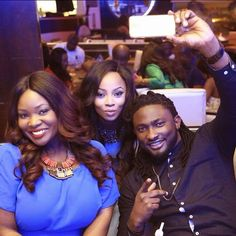 It's Busayolayemi's Blog.. : Uti, Tools And Toke Spotted Taking Selfie