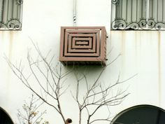 Air Conditioner Cover, Flower Box
