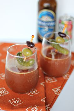 Clamato Brunch Cockt