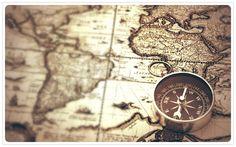 Brujula.  Viajar.