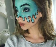 Halloween makeup discovered by R_3_ on We Heart It Halloween Makeup Looks, Find Image, We Heart It, Carnival, Make Up, Face, Carnavals, Makeup, The Face