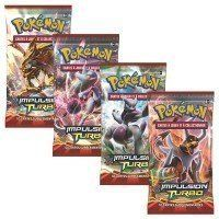 Collectible Trading Card Booster Packs - Pokemon XY8 Breakthrough Sealed Booster Pack x 4 -- You can find out more details at the link of the image.