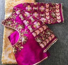 Cutwork Blouse Designs, Wedding Saree Blouse Designs, Best Blouse Designs, Pattu Saree Blouse Designs, Blouse Neck Designs, Stylish Blouse Design, Sarees, Maggam Works, Blouses