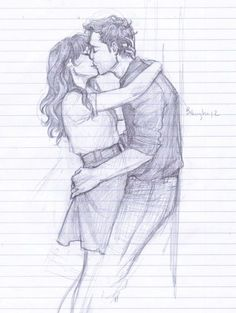 Most romantic couple kissing drawing images cope with that fact through fanart Romantic Couple Hug, Romantic Couples, Cute Couples, Anime Couples, Romantic Ideas, Art Drawings Sketches, Cartoon Drawings, Pencil Drawings Of Love, Sketch Drawing
