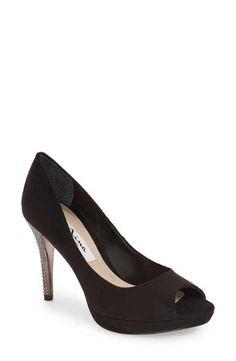 Nina 'Faiza' Crystal Encrusted Platform Sandal (Women)