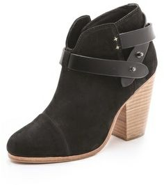 Rag and Bone Harrow Booties - have these; they go with everything