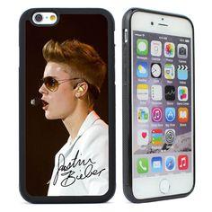 Justin Bieber Black Soft Case Cover for Iphone 6 6s & 6s 6 plus 4 4s 5 5c 5s SE