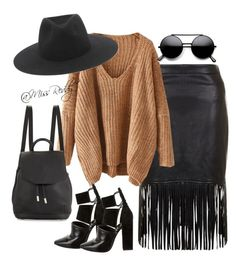 """Untitled #47"" by missreddy on Polyvore featuring rag & bone and Alexander Wang"