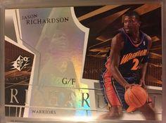 2003 Upper Deck SPx Jason Richardson 23 Warriors Near Mint Combined s H | eBay