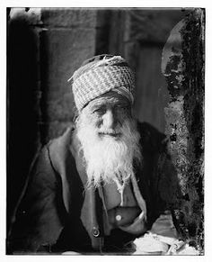 """""""Arab Jew from Yemen"""" circa 1900"""