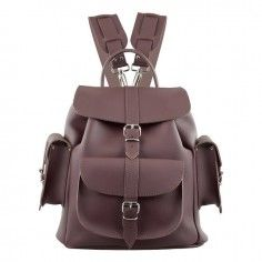 Grafea Wine Burgundy Leather Backpack http://www.styledit.com/shop/grafea-wine-burgundy-leather-backpack/