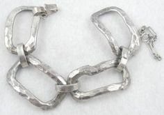A.D. Design Denmark Modernist Bracelet - Garden Party Collection Vintage Jewelry