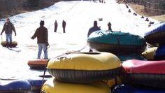 Campgaw Mt, NJ -- snow tubing
