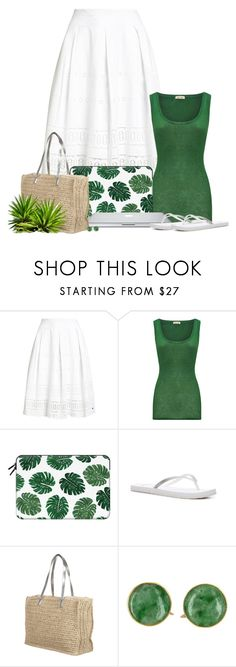 """""""Heat Wave"""" by ameve ❤ liked on Polyvore featuring Superdry, American Vintage, Casetify and Reef"""