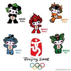 Mascotas de los Juegos Olímpicos Beijing 2008