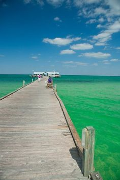City Pier on Anna Maria Island ;) Built in 1911, only way to get to AMI in those days.