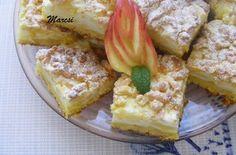 Almás pudingos szelet   Receptkirály.hu French Toast, Breakfast, Food, Morning Coffee, Essen, Meals, Yemek, Eten