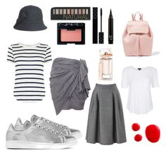 """""""friday outfit brainstorming"""" by alaysecab on Polyvore featuring adidas Originals, Mansur Gavriel, Topshop, Isabel Marant, Phase Eight, Oasis, Forever 21, NARS Cosmetics, Gucci and Balenciaga"""