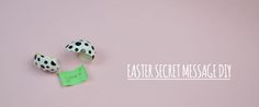 MESSAGGI SEGRETI A PASQUA DIY - secret message - surprise Easter - ©Gucki.it