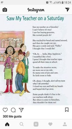 "Children's Poet Laureate Kenn Nesbitt has asked a few of us to upload four of our poems over four (or so) days. This one is dedicated to teachers, from my book, ""Reading, Rhyming, and 'Rithmetic"" (Boyds MIlls Press). Teacher Quotes, Teacher Humor, My Teacher, Teacher Tired, English Classroom, Classroom Language, English Story, Learn English, Education English"