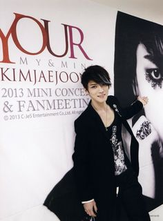 "Kim Jaejoong's ""Your, My, & Mine"" 2013 Mini-Concert & Fan Meeting DVD Photobook"