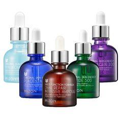 [MIZON] Ampoule Set Pack of 5 (Snail & Collagen & Hyaluronic Acid & Peptide & Placenta)
