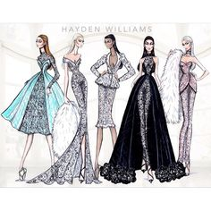Hayden Williams Haute Couture SS15 collection