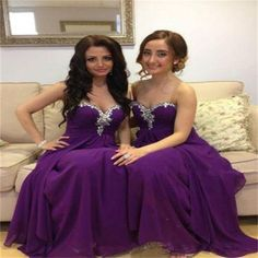 $108 purple bridesmaid dress,long bridesmaid dress,sweetheart bridesmaid dress,charming bridesmaid dresses