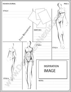 V15 Fashion Design Portfolio Layout Template