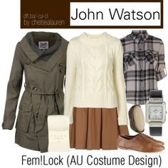 Femlock style clothes.