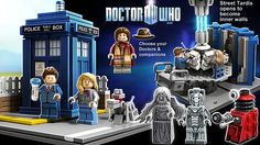 Who wants a Doctor Who LEGO set? Click through to vote! If there are 10,000 votes, the LEGO company will review it!