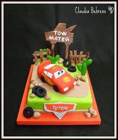 Cars cake.  Wow.