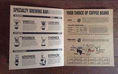 Their menu is huge, but what came first – the menu, or the coffee? globalgrasshopper.com