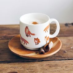 Nature mug - foxes