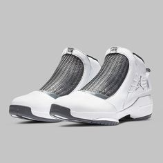 """6826f70ac84 Sneaker News on Instagram  """"The Air Jordan 19 """"Flint"""" is poised to make its  first-ever return this January. Carmelo Anthony s script logo is featured  on the ..."""