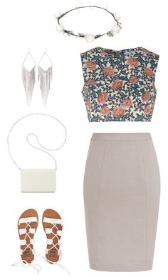 """""""Untitled #1"""" by ivaaaapoool55 ❤ liked on Polyvore featuring Nine West, Billabong, Jules Smith, Glamorous and Lipsy"""
