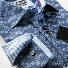 beautiful quality shirts  great attention to detail the  here39s a sneak peak of our latest simon hart navy spiral mens dress shirt in