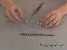 http://www.jewelrysupply.com/  Learn how to knot a pearl easily and efficiently to give your jewelry a professional feel in this beading video from JewelrySupply.com!