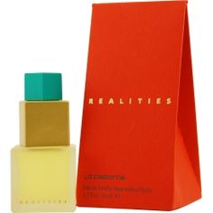 REALITIES Perfume by Liz Claiborne. OMG loved this one since I was 15 years old. They dont sell this anymore, breaks my heart, I still have the orig. sample bottle lol