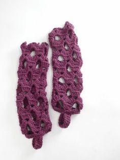 free pattern for leg warmers to crochet | Free Crochet Pattern Lace Leg Warmers | A hobby I need to learn.... C ...