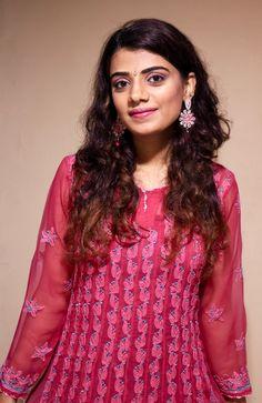 Pink Indian Kurta with Chikan embroidery!  #Indianfashion #OOTD #Festive #Lookbook #Styleblog #Embroidery #Kurta #Aboutalook