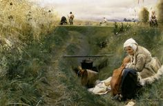 Bild:  Anders Leonard Zorn - Anders Zorn / Our Daily Bread / 1886