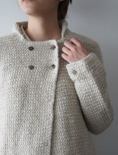 Actually looks woven but could totally be done in Tunisian Crochet