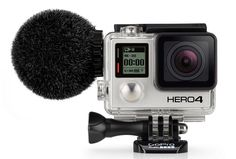 The new Sennheiser MKE2 elements microphone finally brings high-quality sound to the GoPRO HERO4.