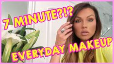 Here's my quick and easy, 7 minute, Quarantine Makeup tutorial: Pure Hollywood, Kandee Johnson, Dry Face, Soft Matte Lip Cream, Makeup Step By Step, Born This Way, Eye Palette, Everyday Makeup