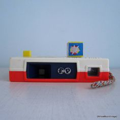 1974 Vintage Fisher Price Toy Pocket Camera. Willow Moon Vintage on Etsy.