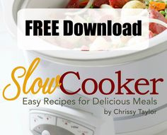 Download and print out your FREE Slow Cooker eBook by Clicking Here Be sure to stop by and join our awesome SLOW COOKER FACEBOOK GROUP too!  There's new recipes being shared every single day with our group of over 3,000 people. Be sure to stop over and check out our FAVORITE SLOW COOKER while you're here. …