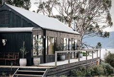 Located off Bruny Island in southern Tasmania, this small island formerly belonged to a writer, painter and poet. And now a family has transformed it into Satellite Island, an off the grid hide-away i